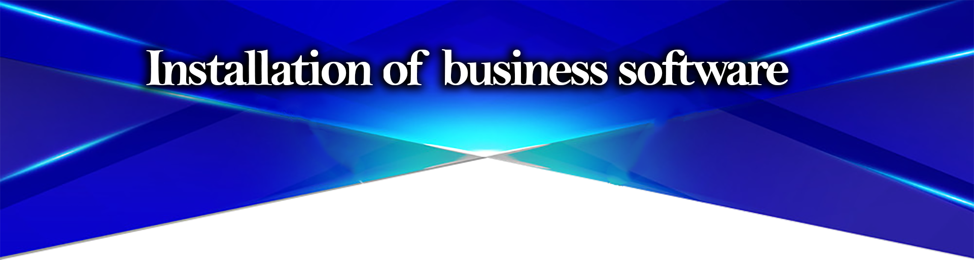 Installation of business software