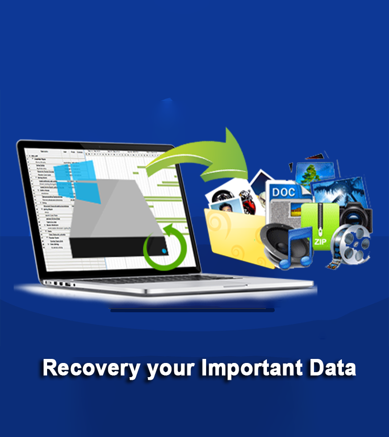 recovery your important data