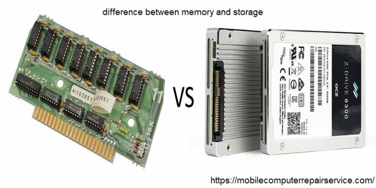 What's the Difference Between Memory and Storage?