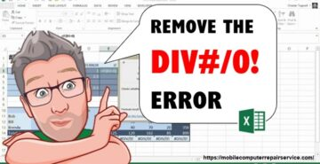 How to fix a divide or divide by zero error