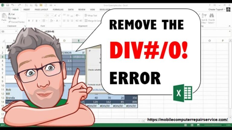 How to fix a divide or divide by zero error?